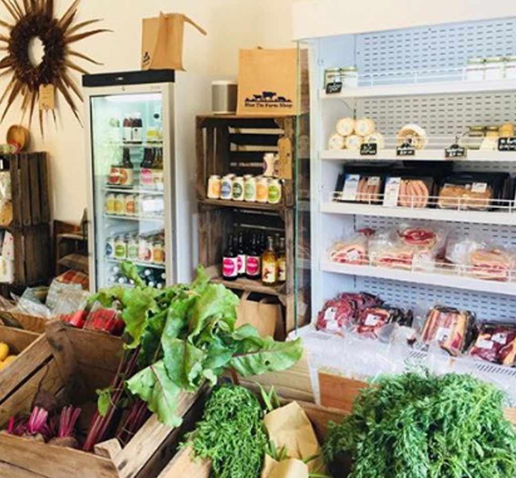 Blue Tin Produce Farm Shop